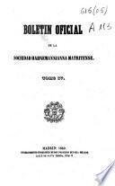 Boletín oficial de la Sociedad Hahnemanniana Matritense