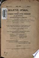 Boletín oficial del 50̳ Congreso médico latino americano 60̳ Pan americano y de la Exposición internacional de higiene anexa, que se celebrarń en Lima, del 3 al 10 de agosto de 1913 ... núm. 1-3 mayo 1912-1913. v.1, 1912