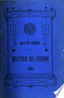 Boletin oficial del Ministerio del Interior