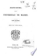 Boletín-Revista de la Universidad de Madrid