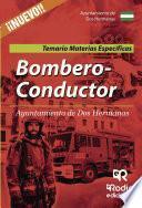 Bombero-Conductor del Ayuntamiento de Dos Hermanas. Temario Materias Específicas