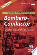 Bombero-Conductor del Ayuntamiento de Dos Hermanas. Temarios y Test. Materias comunes