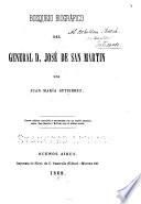 Bosquejo biográfico del General D. José de San Martin