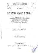 Bosquejo biográfico del general Don Ignacio Alvarez y Thomás ...