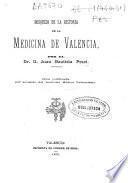 Bosquejo de la historia de la medicina de Valencia