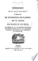 Bosquejo de un Viaje historico é instructivo de un Español en Flandes, etc