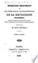 Bosquejo historico de los principales acontecimientos de la revolucion francesa