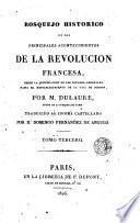 Bosquejo histórico de los principales acontencimientos de la Revolución francesa, 3