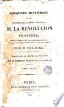 Bosquejo histórico de los principales acontencimientos de la Revolución francesa