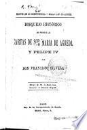 Bosquejo histórico que precede a las cartas de Sor María de Agreda y Felipe IV