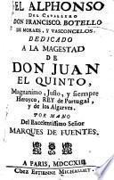 Botello de Moraes y Vasconcelos Francisco El Alphonse