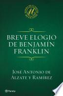 Breve elogio de Benjamín Franklin