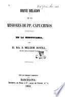Breve Relación de las Misiones de PP. Capuchinos Españoles en la Mesopotamia