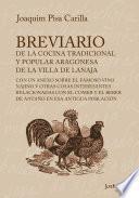 Breviario de la cocina tradicional y popular aragonesa de la villa de Lanaja
