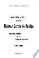 Brigadier general doctor Thomas García de Zúñiga