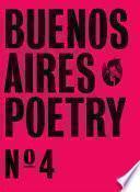 Buenos Aires Poetry N°4