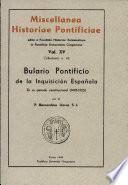 Bulario Pontificio de la Inquisition