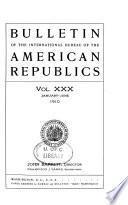 Bulletin of the International Bureau of the American Republics