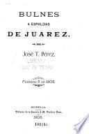 Bulnes a espaldas de Juárez