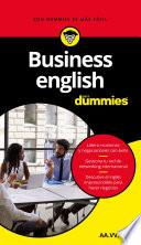 Business English para Dummies (Pack)
