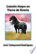 Caballo Negro En Tierra De Gracia