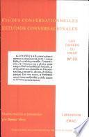 Cahiers du CRIAR n°23, Etudes conversationnelles/Estudios conversacionales