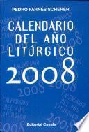 Calendario del año litúrgico 2008