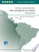 Cambios y continuidades de la vida conyugal de las mujeres de Montevideo