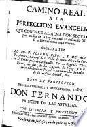 Camino real a la perfección evangélica