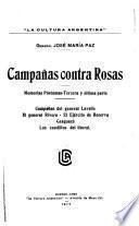 Campañas contra Rosas
