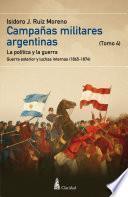 Campañas Militares Argentinas - Iv (1865-1874)