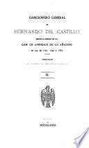 Cancionero general de Hernando del Castillo
