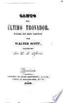 Canto del último Trovador ... traducido por D. F. Piferrer