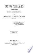 Cantos populares españoles, recogidos, ordenados e ilustrados