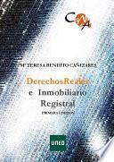CANVAS. DERECHOS REALES E INMOBILIARIO REGISTRAL