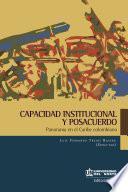 Capacidad institucional y posacuerdos