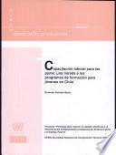 Capacitación laboral para las pyme: una mirada a los programas de formación para jóvenes en Chile: Proyecto Políticas para mejorar la calidad, eficiencia y la relevancia del entrenamiento profesional en América Latina y el Caribe. Fase II