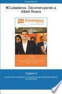 Capítulo 5 de #Ciudadanos. ¿Quién vota a Ciudadanos?: Un análisis desde la...