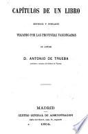 Capítulos de un libro sentidos y pensados viajando por las provincias Vascongadas