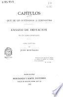 Capítulos que se le olvidaron á Cervantes