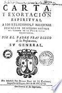 Carta y exortacion espiritual
