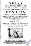 Cartas Al Sumo Pontifice Inocencio XI. con otros Tratados pertenecientes à las controversias Eclesiasticas y Seculares del Venerable Prelado