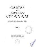 Cartas de Federico Ozanam