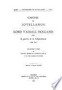Cartas de Jovellanos y Lord Vassall Holland