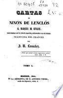 Cartas de Ninon de Lenclós al Marques de Sévigné