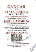 Cartas de Santa Teresa de Jesus, 1