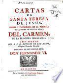 Cartas de Santa Teresa de Jesus ... con notas del ... Fr. Antonio de San Joseph, Religioso Carmelita descalzo ..