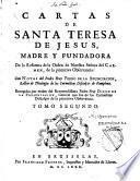 Cartas de Santa Teresa de Jesus, Madre y fudadora de la reforma de la orden de lnuestra senora del carmen, de la primitiva observancia