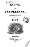 Cartas de una peruana