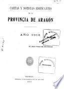 Cartas edificantes de la Provincia de Aragón